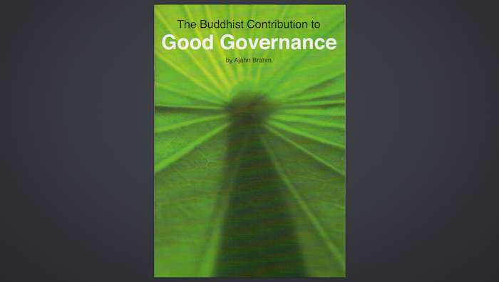 Buddhist Good Governance