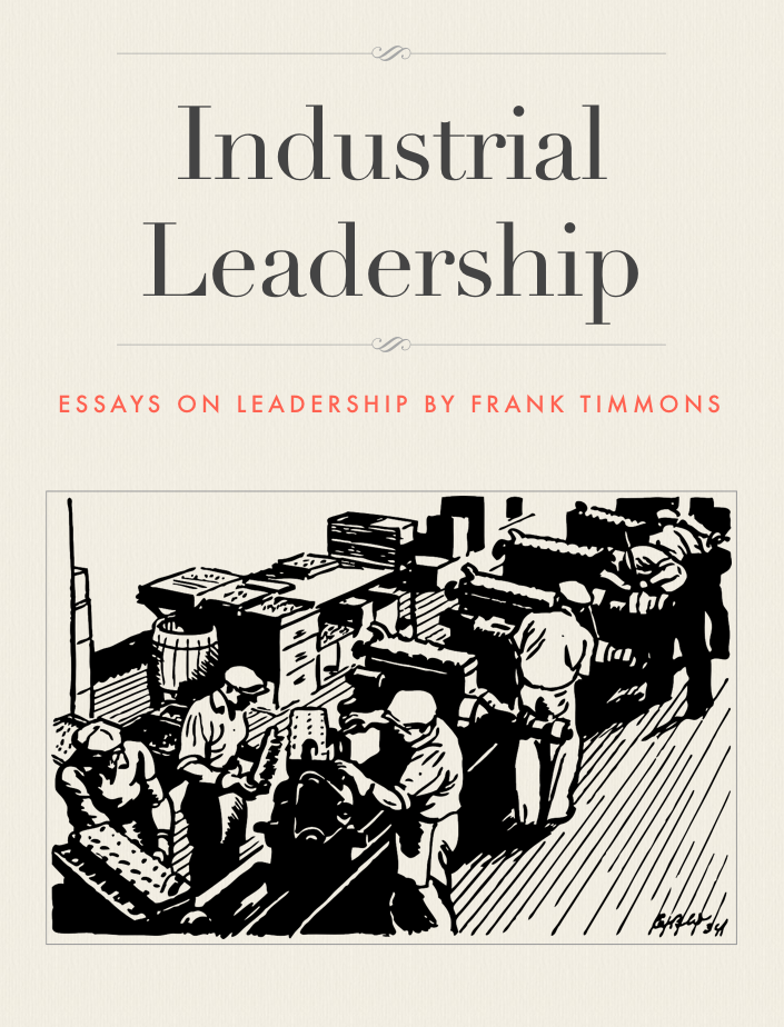 Industrial Leadership Book